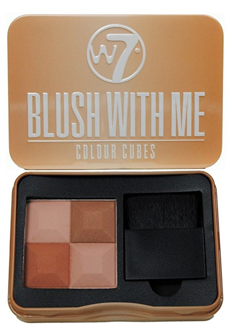 W7 Blush With Me Color Cubes #Cassie Mac