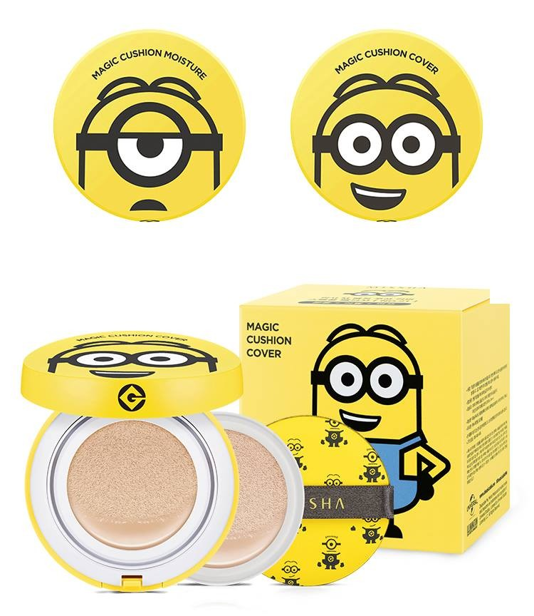 Phấn Nước Missha Magic Cushion Moisture (Minion) #23